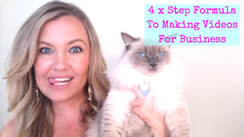 4 x Step Formula To Making Videos For Business (THAT WORK!)