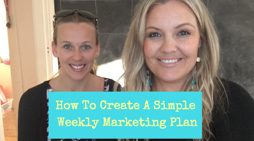 How To Create A Simple Weekly Marketing Plan (That Fits Around Kids)
