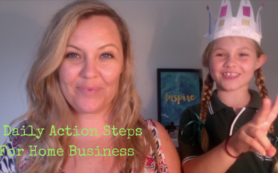 5 Daily Action Steps For Home Business