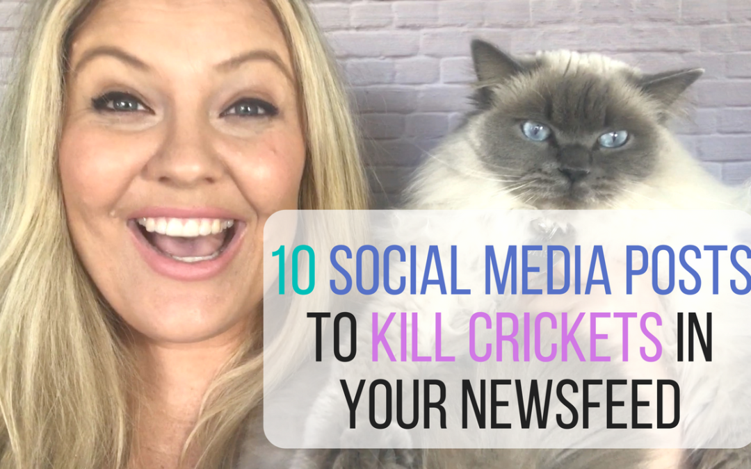 10 Social Media Posts To Kill Crickets In Your Newsfeed